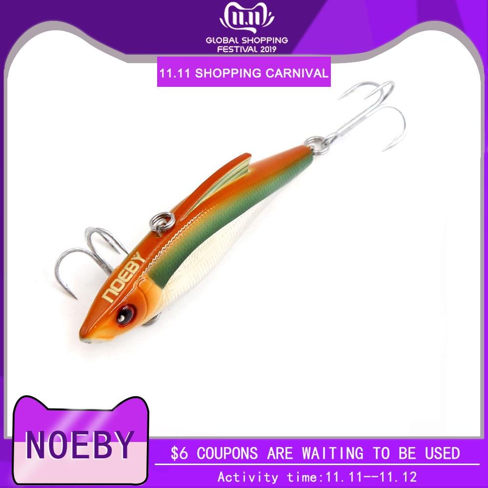 Cebos de agua salada NOEBY NBL9141 hundimiento VIB, señuelo de pesca duro de plástico, Señuelos de Pesca, juego de señuelos artificiales, aparejos de pesca