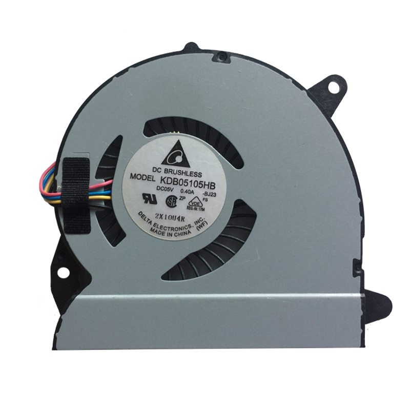 Кулер для процессора ноутбука ASUS X32 U32J U32JC U32U U32V U32VJ U82U X32U KDB05105HB -BJ23 DC5V 0.4A 4PIN охлаждение