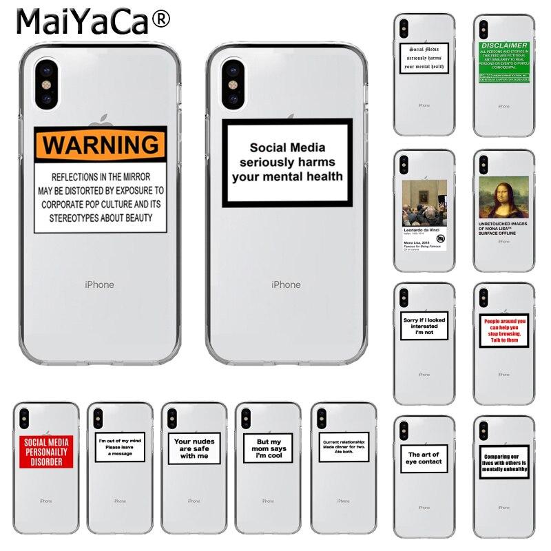 MaiYaCa Positive Gute Vibe Glücklich Vertrauen Lustige Telefon Fall für iphone SE 2020 11 pro XS MAX 8 7 6 6S Plus X 5 5S SE XR