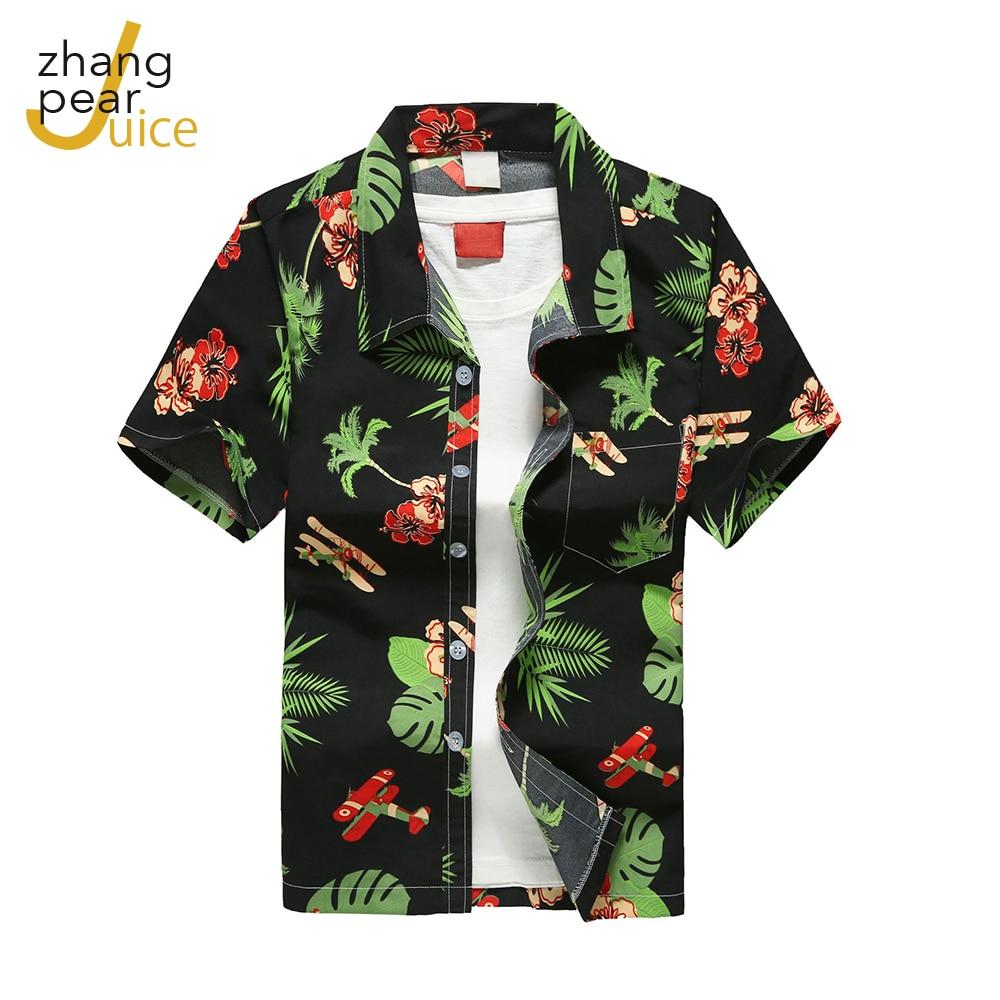 Гавайские мужские пляжные рубашки, мужская повседневная Уличная одежда, летние праздничные рубашки, уличная одежда, свободная Классическа...