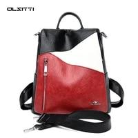 olsitti fashion leisure high quality backpacks for women 2021 new large capacity shoulders travel rucksack mochila mujer