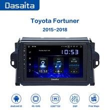 Dasaita DSP Android 10.0 autoradio stéréo pour Toyota Fortuner 2016 2017 2018 GPS voiture multimédia 9