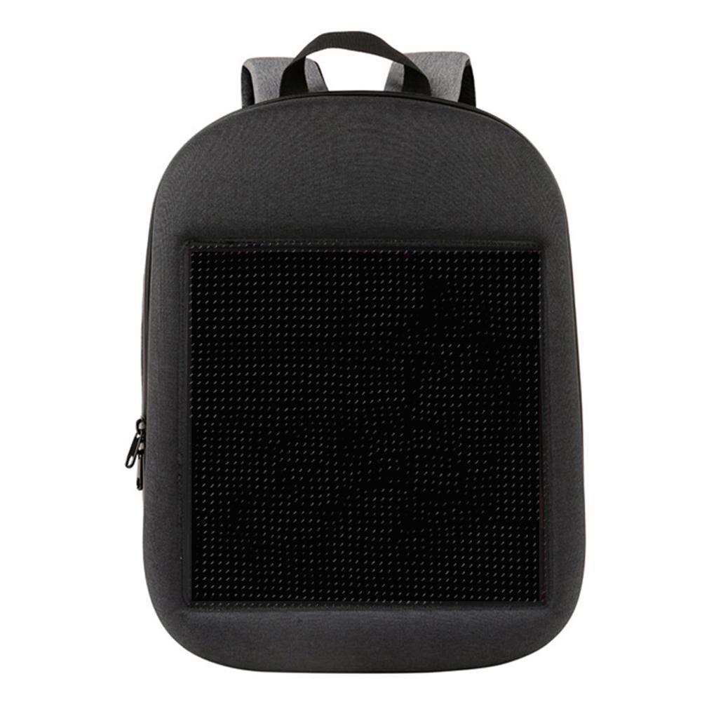 Mochila de pantalla LED DIY inalámbrico Wifi APP Control de publicidad mochila LED al aire libre cartelera impermeable