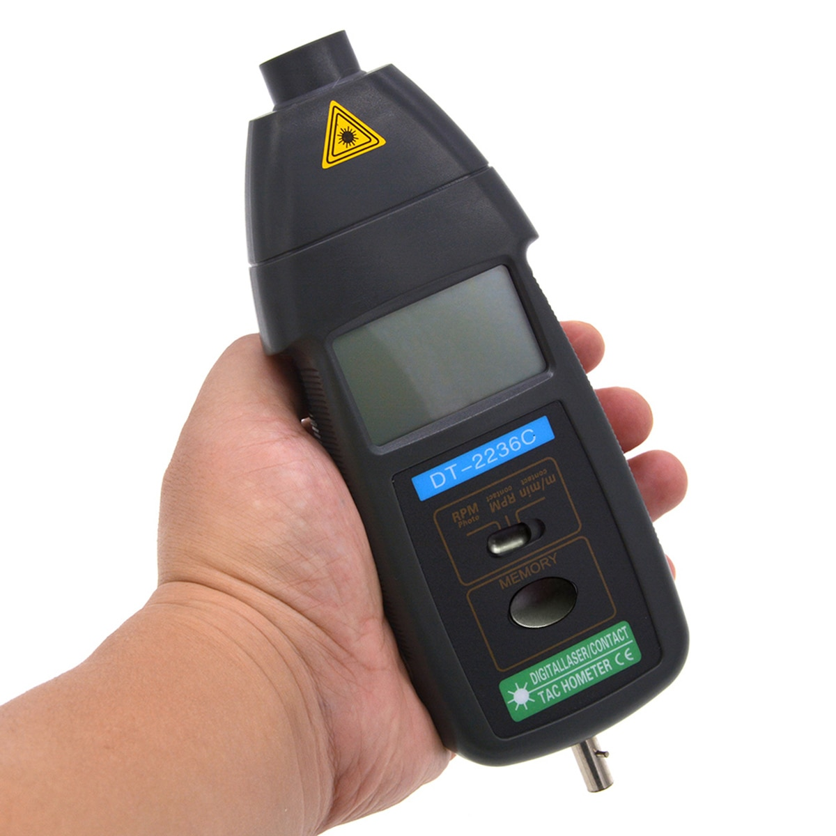 DT2236C أداة لمس رقمية ، مقياس سرعة الدوران اليدوي ، كاشف سرعة RPM