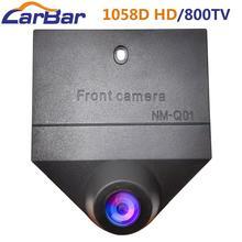 Carbar cámara de visión delantera para coche impermeable HD imagen visión nocturna 1058D Chip 800TV Lines