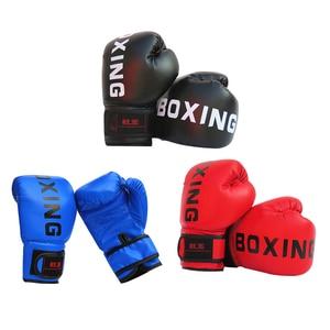 1pair Adult/Children Boxing Gloves Sanda Taekwondo PU  Sanda Fighting Gloves Fighting Handguard MMA Sanda Training Equipment