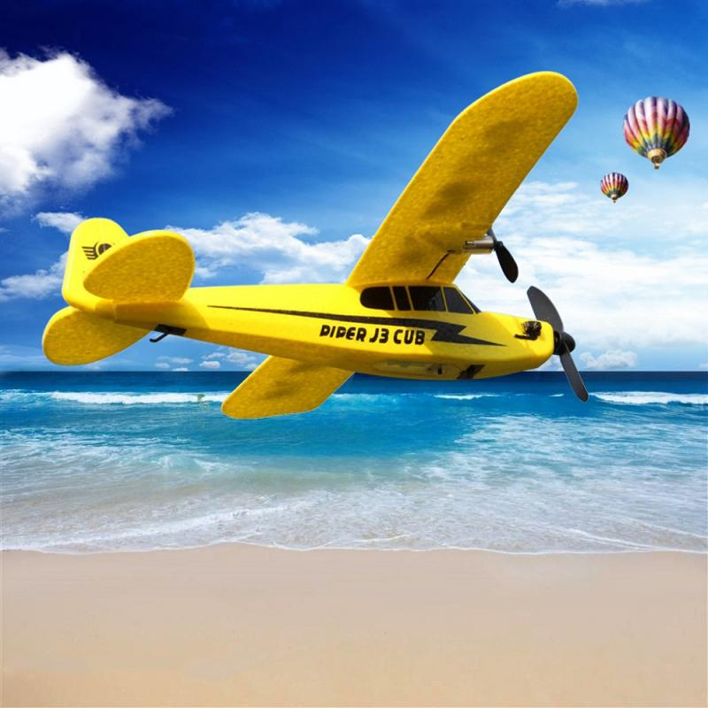 New HL-803 RC Airplane Helicopter Remote Control Plane Glider Metal Frame 150m Distance Toys For Kid