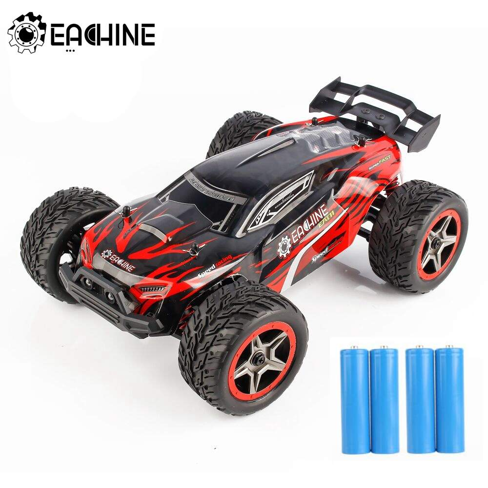 Eachine EAT11 1/14 2.4G 4WD RC Drift Car High Speed 45km/h Off-road Vehicle Models W/ Head Light Full Proportional Control Toys