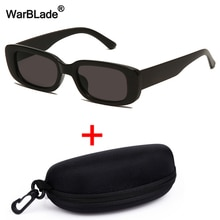 WarBLade Retro Small Rectangle Sunglasses Men Women Luxury Brand Designer Square Sun Glasses Vintage