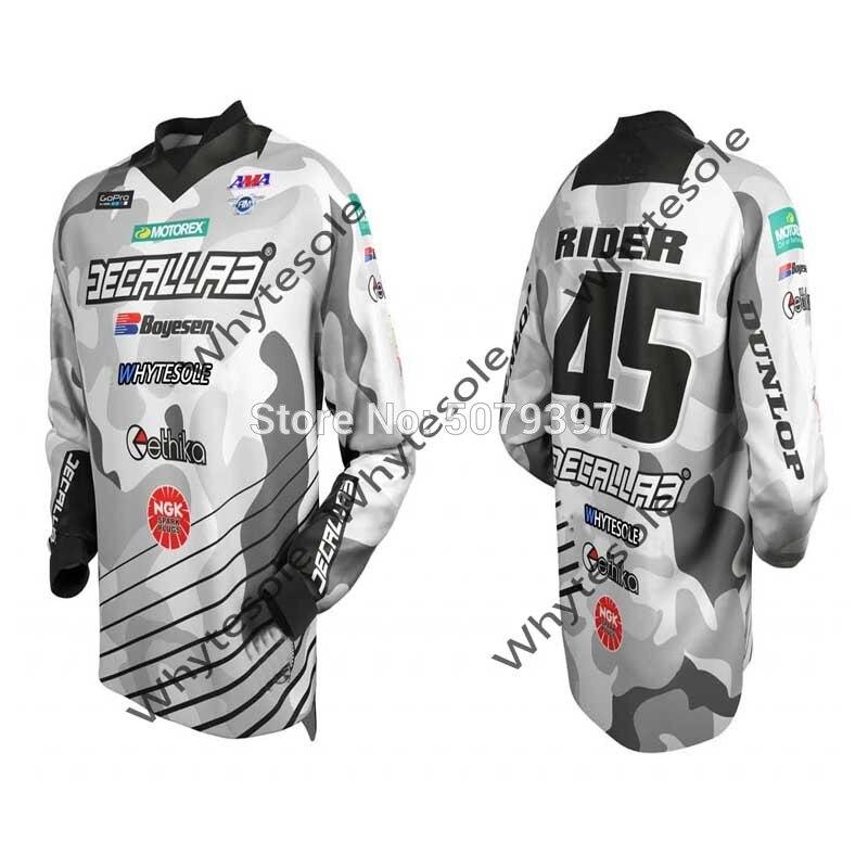 Camiseta con nombre personalizado para motocross y MTB para hombre, jersey enduro...