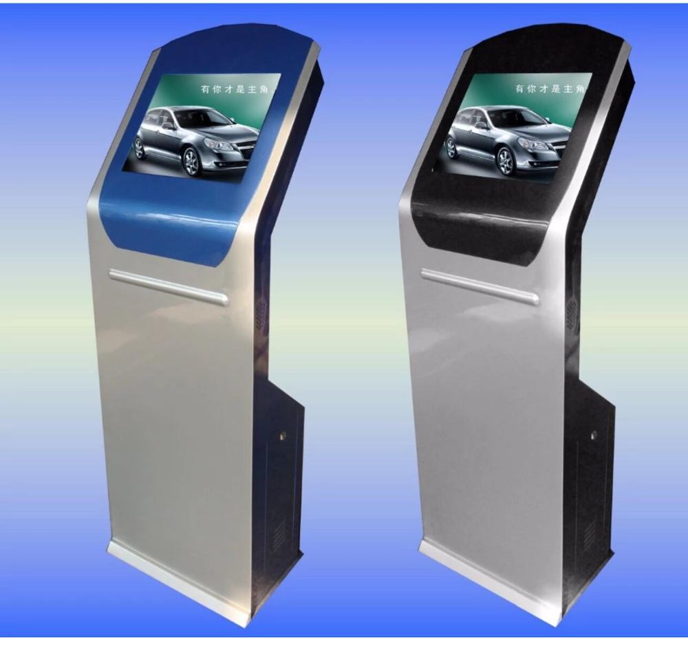 Terminal de servicio automático de 17 pulgadas, Sistema de Gestión de colas de pantalla táctil, kiosco