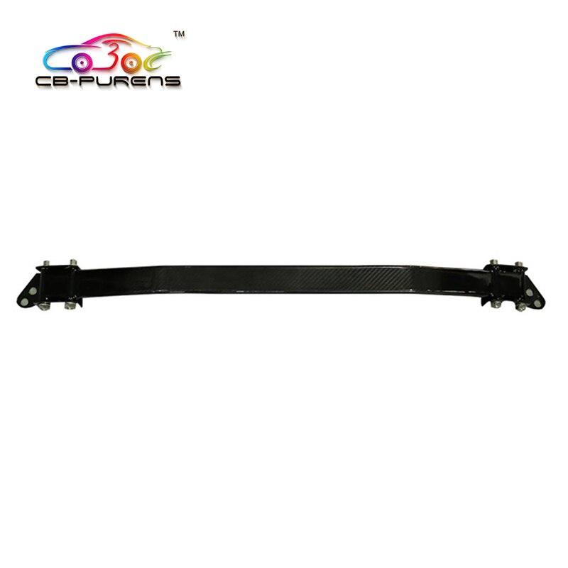 For Chevrolet Camaro 2016 Gloss Black Carbon fiber Tower Brace Strut Bar