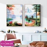 Toile de decoration de noel  peinture danimaux  affiche de plante  decoration murale  image pour salon  decoration de maison