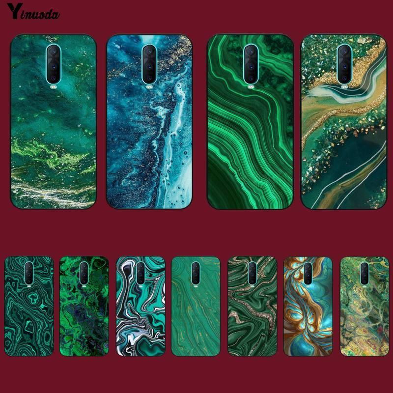 Yinuoda зеленый Гранит камень обои на заказ мягкий чехол для телефона для oppo F 1S, для детей 3, 5, 7, 9, A 37 83 73 75 71 5x5 Reno2z relme5