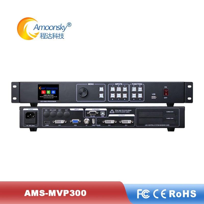 Procesador de vídeo MVP300 de bajo precio compara KS600 KYSTAR interior p2 p3 p4 p5 panel led procesador de pared de vídeo HDMI DVI entrada