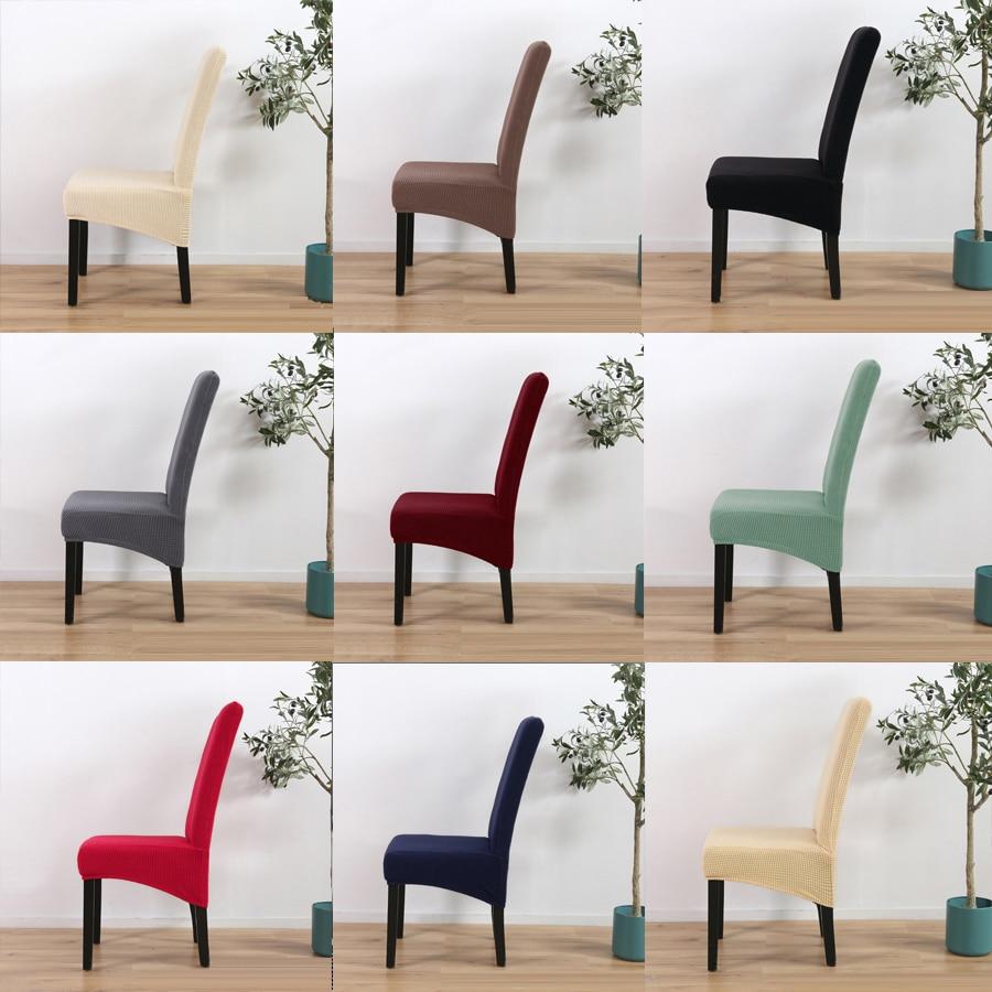 Tamaño XL de gran tamaño cubierta de la silla de largo Espalda alta elástico fundas de LICRA para silla de comedor Oficina de gran tamaño