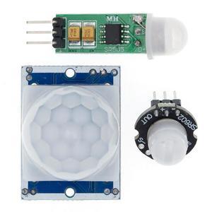1PCS HC-SR501 HC-SR505 AM312 Adjust IR Pyroelectric Infrared Mini PIR Module Motion Sensor Detector Module Bracket For Arduino