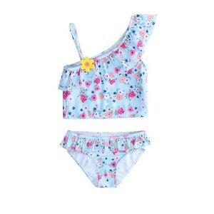 Wishere Baby Girl Swimwear Child Swimsuit Bikini Kid' Swimming-Suit