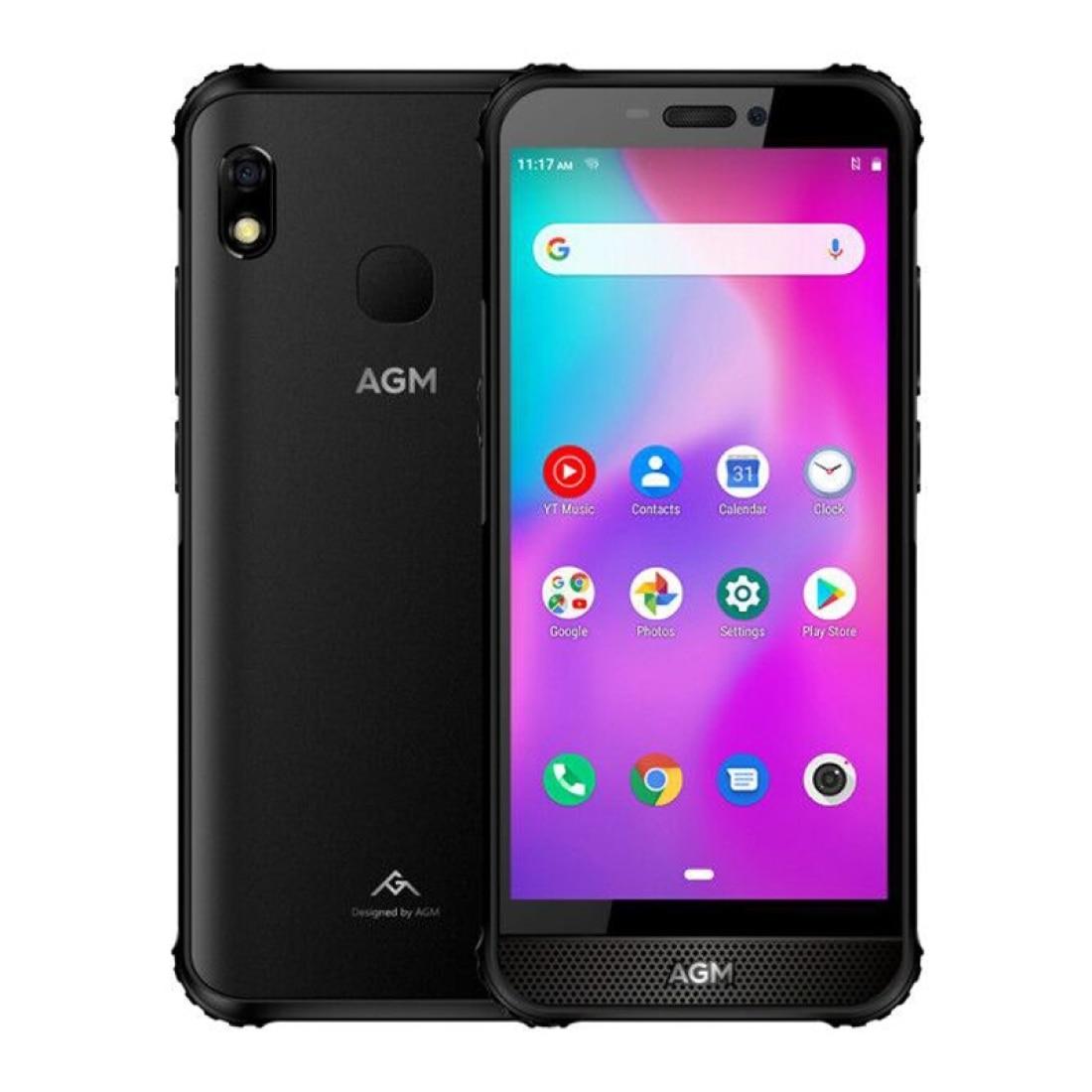 Купить AGM A10 прочный телефон Android 9 смартфон 5,7 дюймЭкран Unisoc ums312 NFC 6 ГБ + 128 ГБ сзади Камера 13MP отпечатков пальцев 4400 мАч мобильный телефон