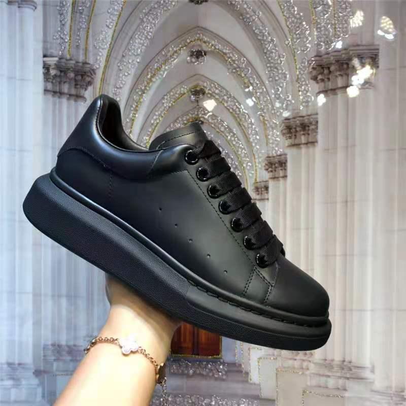 حذاء فاخر من Mcqueen للنساء بتصميم علامة تجارية أحذية رياضية بيضاء من alexander أحذية فلكنيز للسيدات أحذية Zapatillas De Deporte X12 جديد