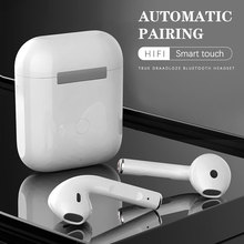 Original Wireless Waterproof Headsets  I12 Tws I7s Headphones Bluetooth Sports Earphones Stereo In E