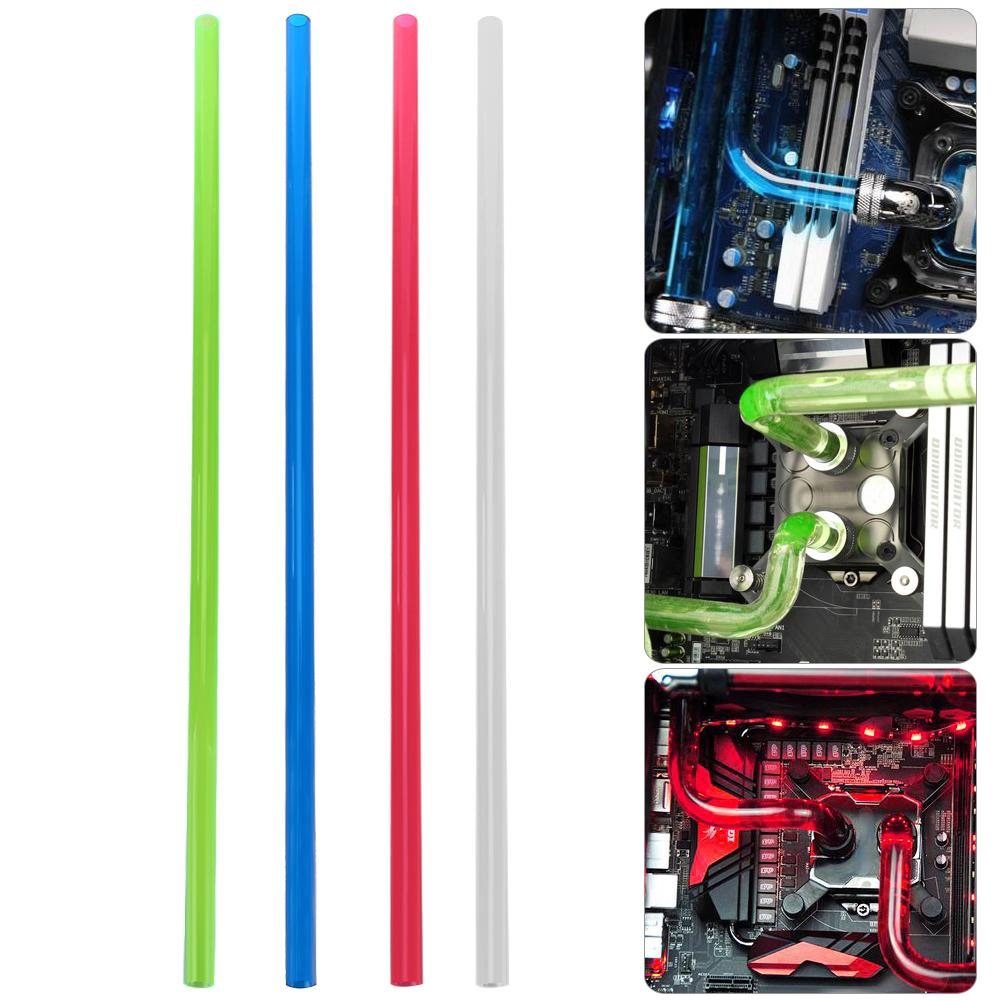 Tubo rígido de refrigeración por agua PETG 10x14mm 500mm para sistema de refrigeración por agua