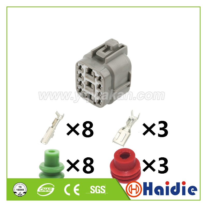 Auto electric 11pin auto housing plug 9098011240 plastic wire cable sealed waterproof connector 9098