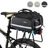 אופניים שקיות קיבולת גדולה עמיד למים רכיבה על אופניים תיק אופני הרי אוכף מדף תא מטען שקיות לשמירת Carrier אופני תיק