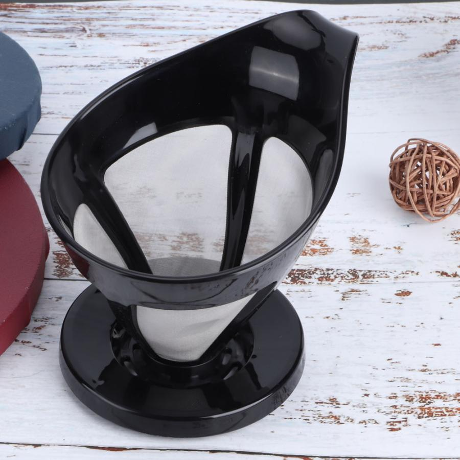 Принадлежности для капельного кофе, многоразовые сетчатые фильтры для кофе из нержавеющей стали, кухонные принадлежности для приготовлени...