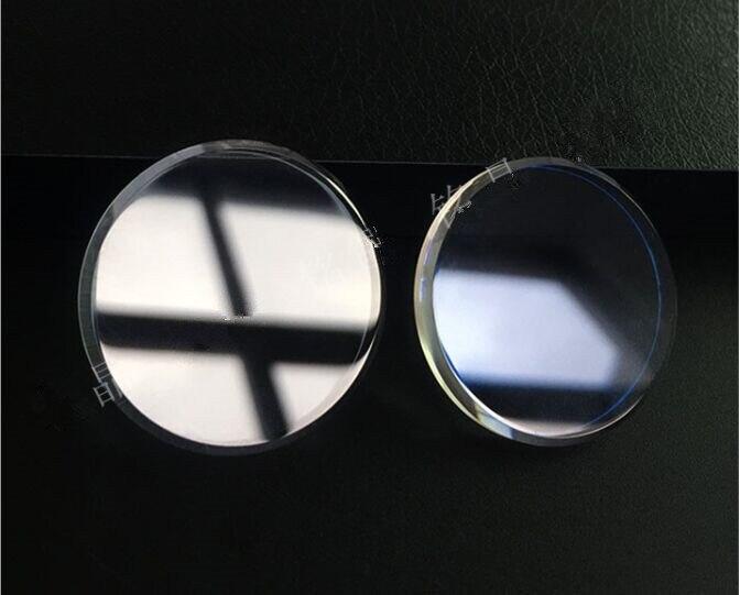Frete grátis 1pc 2.5*31mm plana vidro mineral para snxs79 transparente e azul ar revestido
