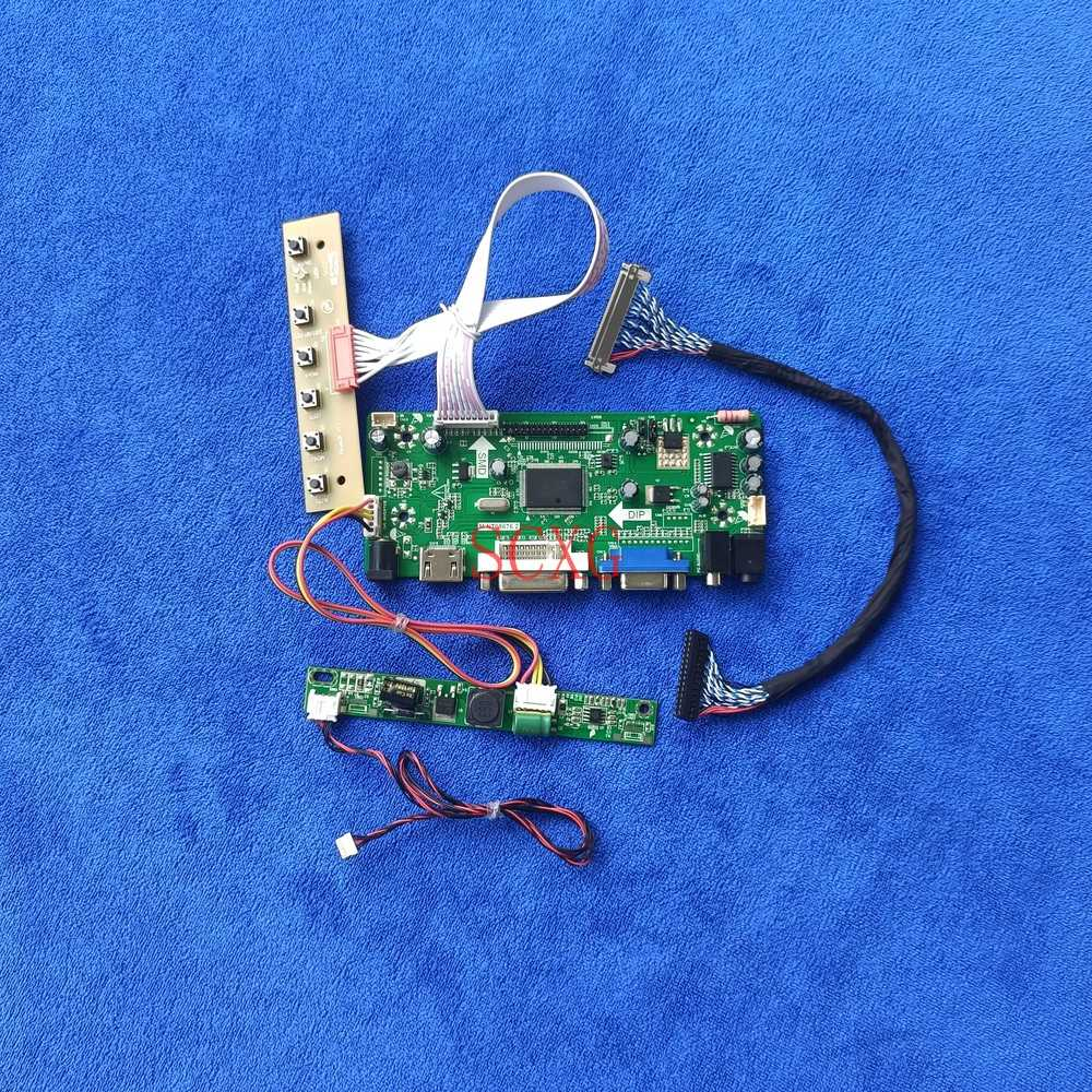 لوحة تحكم Fit M240UAN01.0 M240UAN02.0 M240UAN02.2 WLED VGA DVI HDMI متوافقة مع 30 دبوس LVDS Matrix 1024*600 Kit M.NT68676