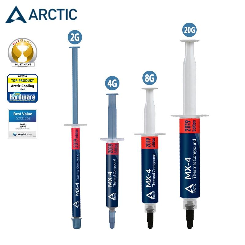 MX-4 Ártico 2g 4g 8g 20g procesador CPU enfriador ventilador de silicona pasta térmica grasa 8,5 w/(mk) disipador de calor conductivo GD900