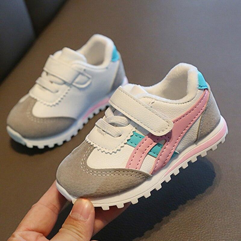 Детская обувь, детская обувь, детская спортивная обувь для мальчиков и девочек, детские кроссовки на плоской подошве, модная повседневная мягкая обувь для младенцев|Кроссовки| | АлиЭкспресс
