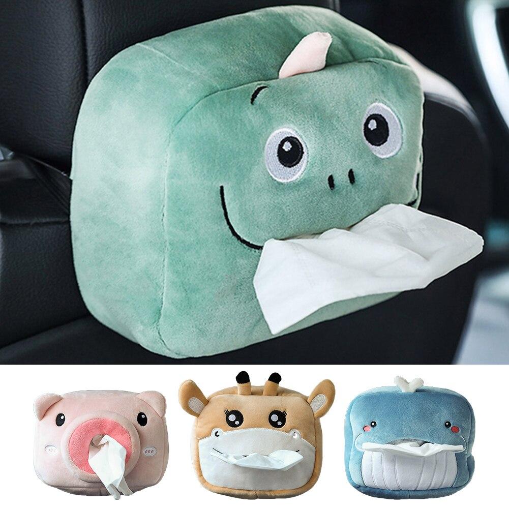 Interesting Funny Car Tissue Box Cute Napkin Tissue Paper Holder For Home Office Car Interior Paper Bags Interior Decoration