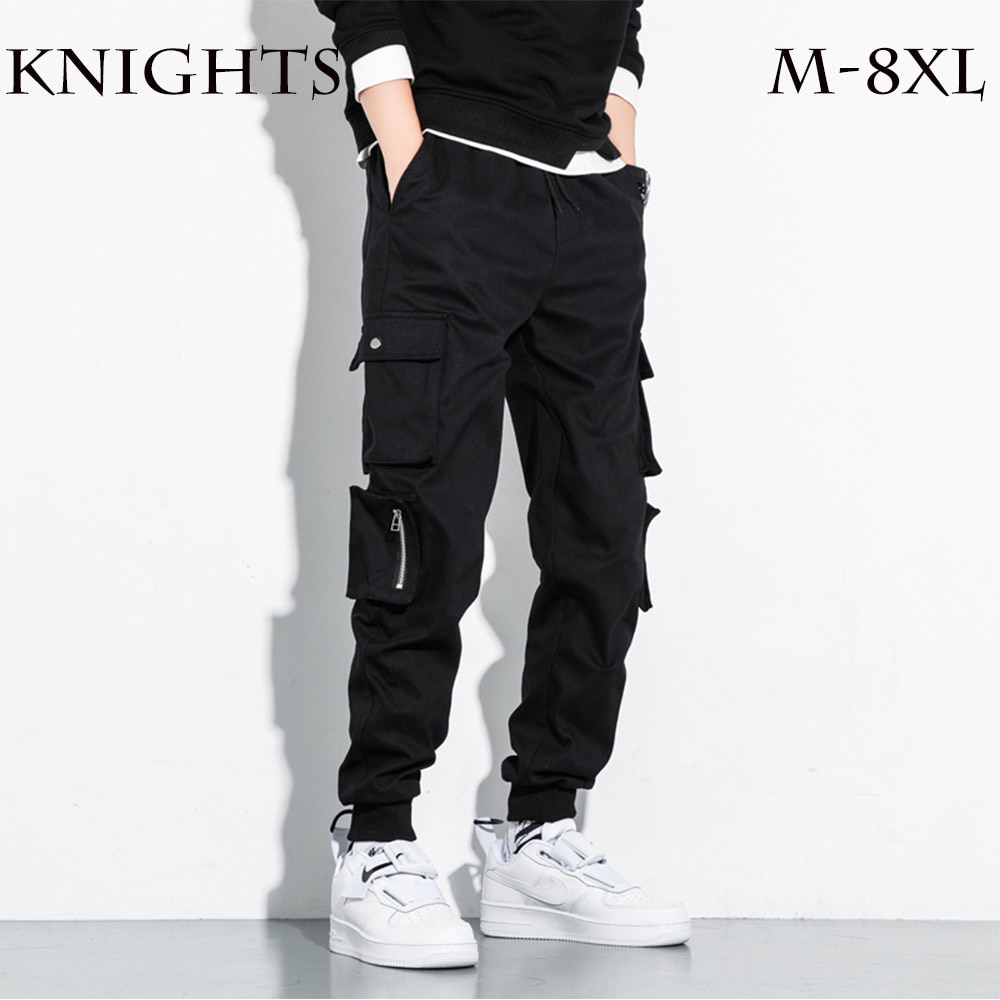 Men's Tactical Pants Breathable Summer Casual Army Military Streetwear Jogger Harem Long Trousers Male Cargo Pants M-8XL