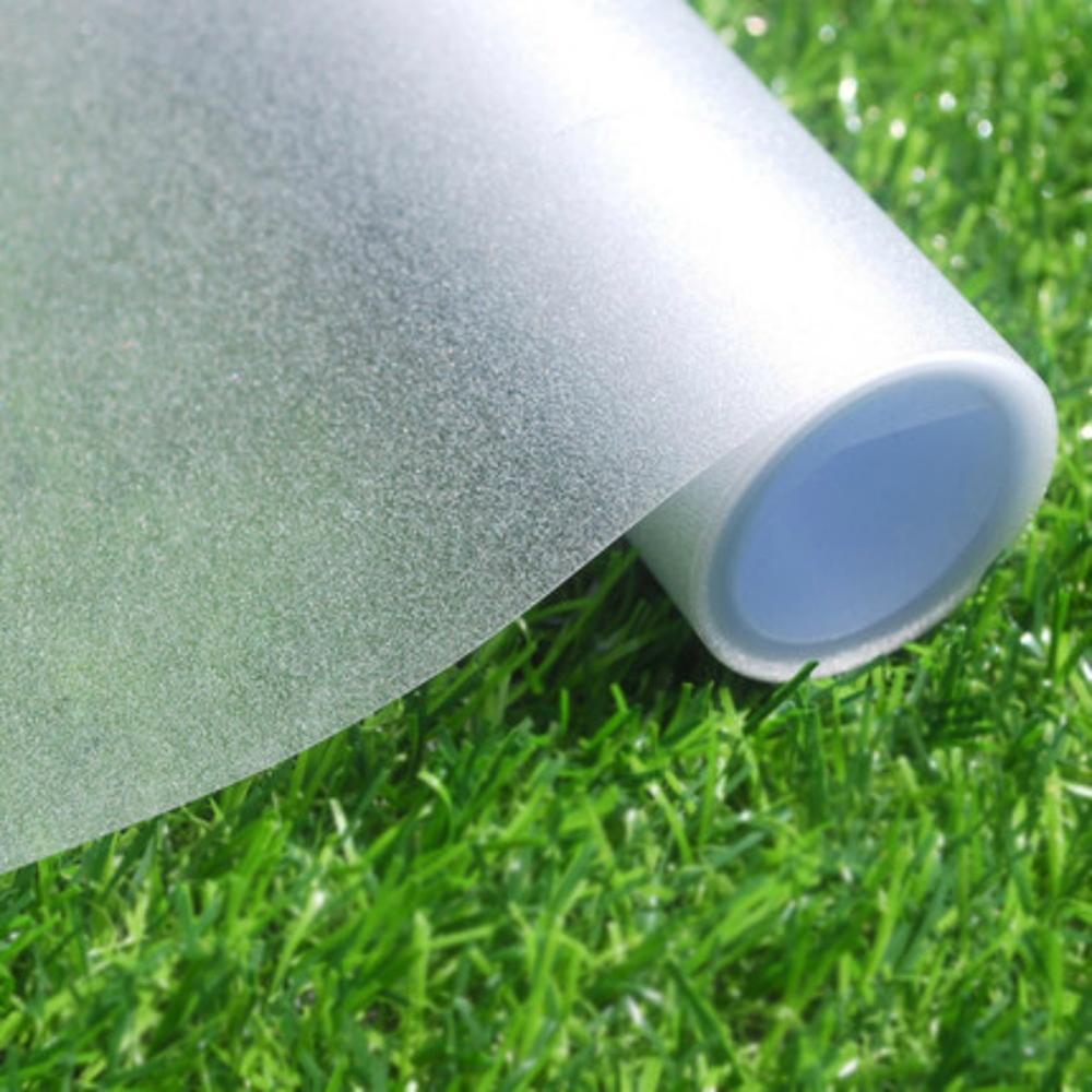Película de privacidad de la ventana de 2/3/5M mate blanco autoadhesivo película decorativa opaca pegatina de la ventana Anti-UV vinilo ventana ciega