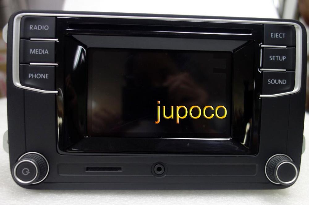 Testado 5 Polegada display de áudio do carro rádio bluetooth mib2 pq 1k8035150h l56vw2 feito na polónia