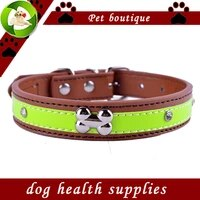crystal studded dog collar pu leather puppy collars for small dogs dog accessories necklace pet products for animals