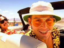 Autocollant mural géant en tissu soie   Autocollant de peur et de beauté dans le film de Las Vegas, Johnny Depp, décor dintérieur lumineux dart