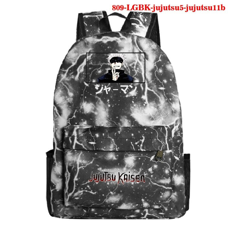 Jujutsu Kaisen Student Backpacks Anime Kawaii School Girls Bags Backpacks for Teenagers Casual Travel Backpack Back To School