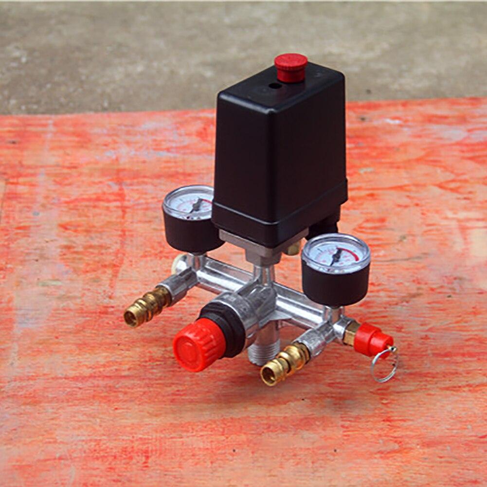 Практичный датчики прочный Простая установка Алюминий аксессуары кронштейн переключателя комплект ремонтного оборудования воздушный компрессорныц насос коллектор