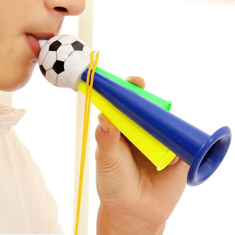 Пластиковый воздушный гудок для футбола, спортивные игры, мероприятия на встречу, праздник, товары для вечерние для детей, детские громкие и...