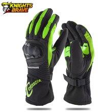 Мотоциклетные Перчатки Guantes, перчатки с пальцами для мотокросса, с сенсорным экраном, зимние гоночные