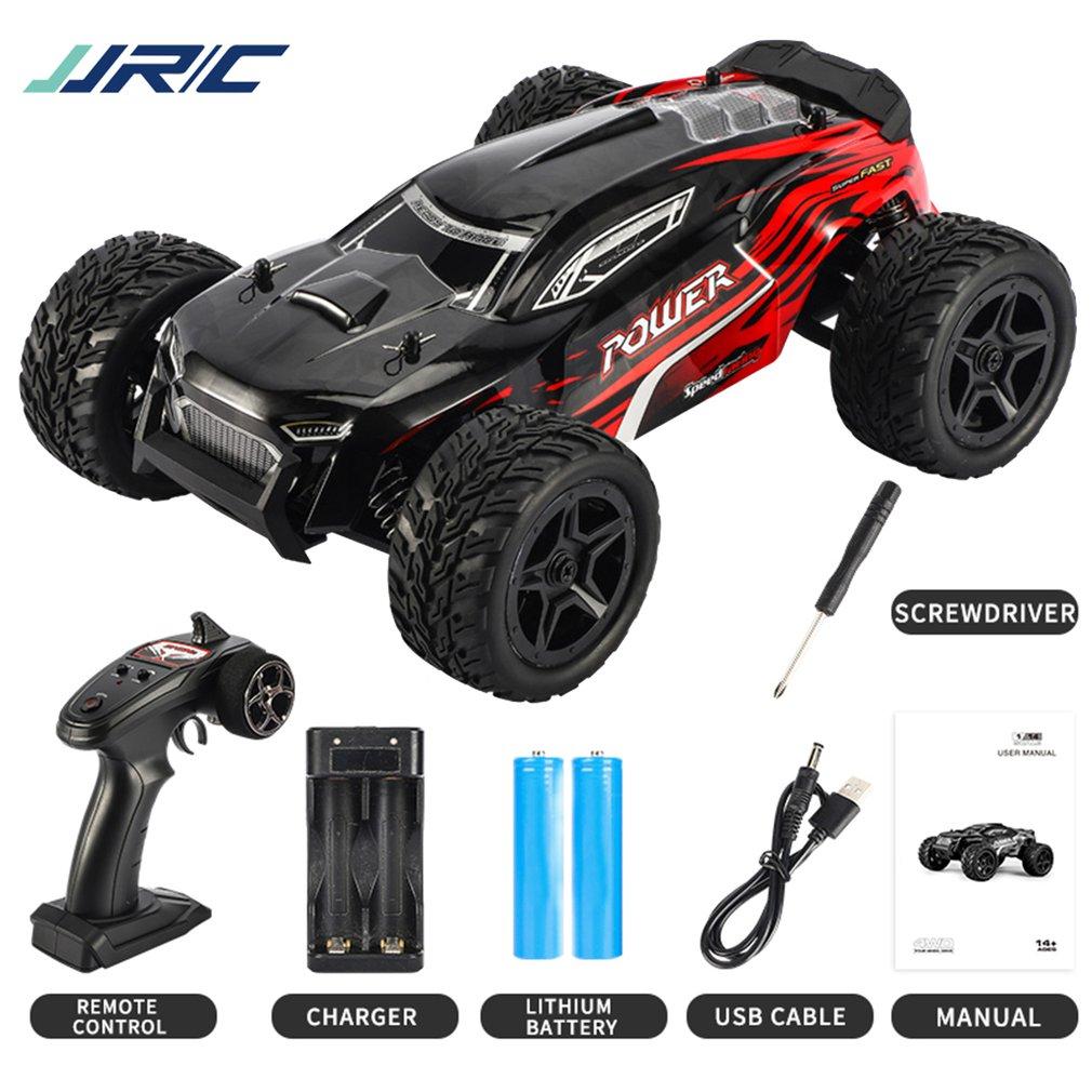 JJR/C Q122 1:16 2.4G Off-Road 4WD Climbing RC Vehicle Car Waterproof Remote Control Stunt Car Model Toys 380 Motor
