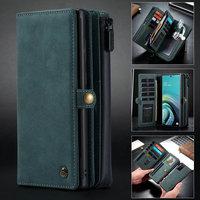 Съемный чехол-кошелек CaseMe для Samaung Galaxy Note 20 S20, ультратонкий кожаный чехол на молнии для телефона S20 Plus Note 20 A71 A51, чехол