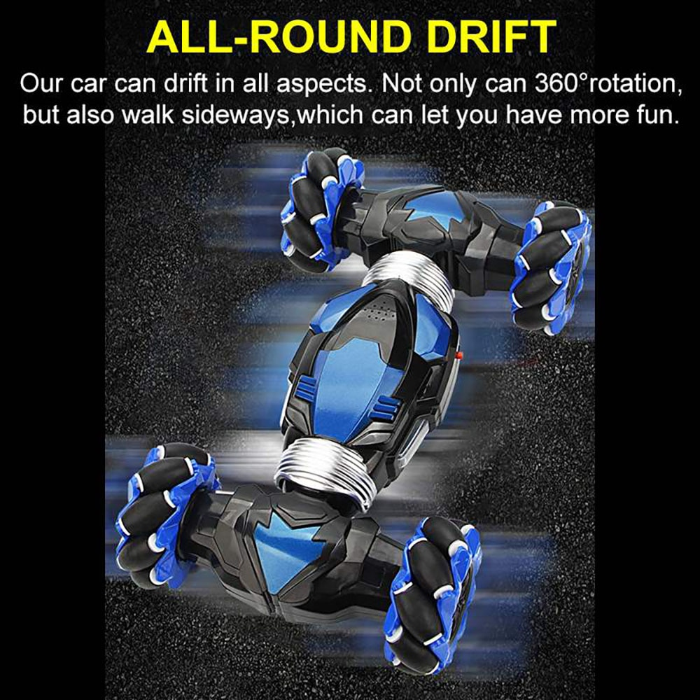RC 360  RC Car 4WD Radio Control Stunt Car Gesture Induction Twisting Off-Road Vehicle Drift RC Toys with Light enlarge