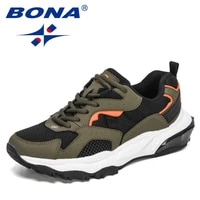 bona 2021 new designers light running shoes high quality outdoor sports shoes men sneakers breathable outdoor walking footwear