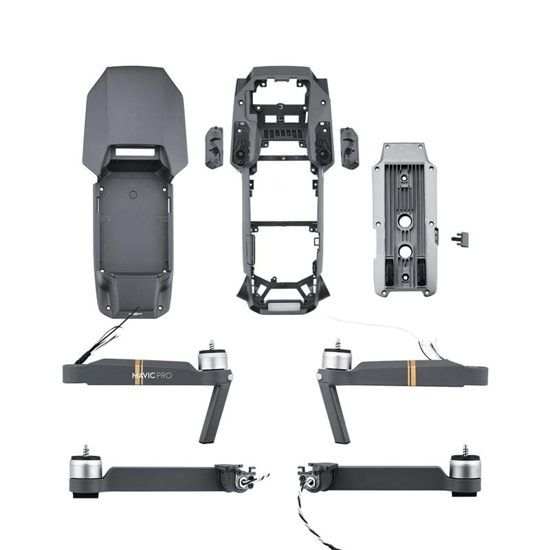 For DJI Mavic Pro Brand New Front Rear Left Right Arm Body Shell Middle Frame Bottom Shell Upper Cover for Mavic Pro Repair Part