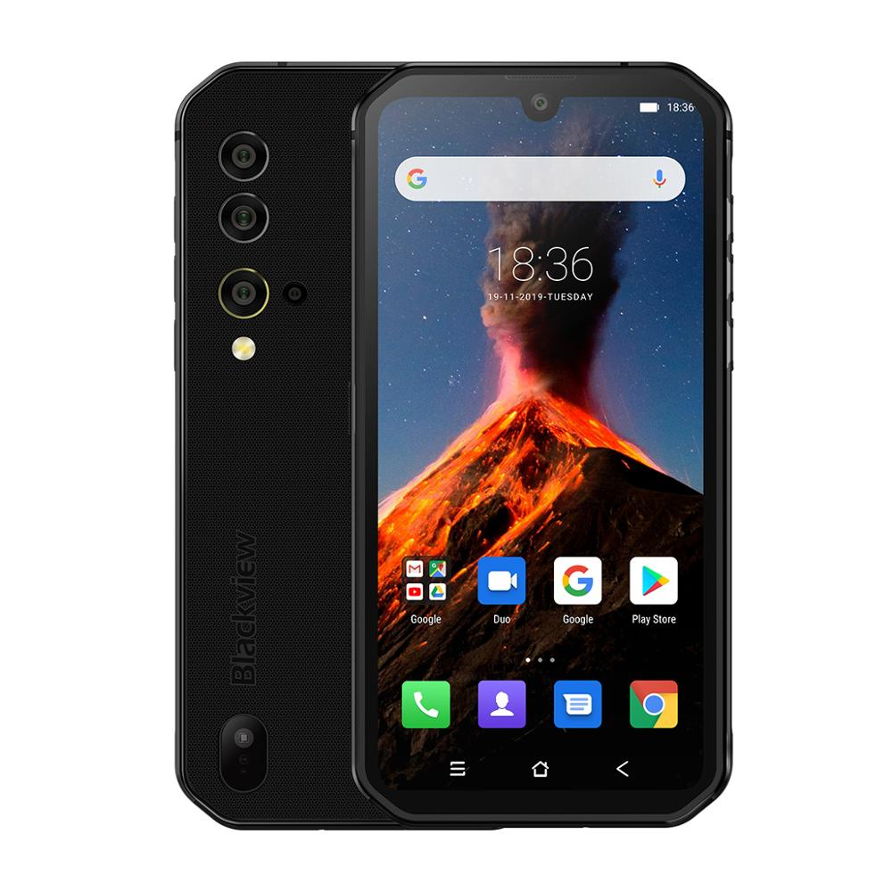 Global Version Blackview BV9900 Helio P90 IP68 Rugged Mobile Phone Octa Core 8GB 256GB 48MP Quad Rear Camera Android 9.0 NFC