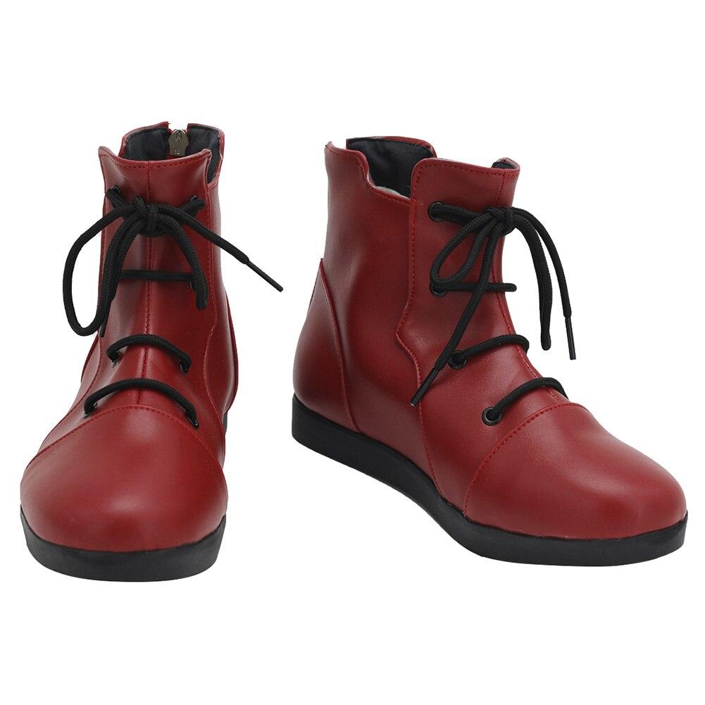 أحذية التأثيرية الانيمي Jujutsu COS Kaisen Yuji itadoo i أحذية الهالوين ازياء اكسسوار مصنوع حسب الطلب